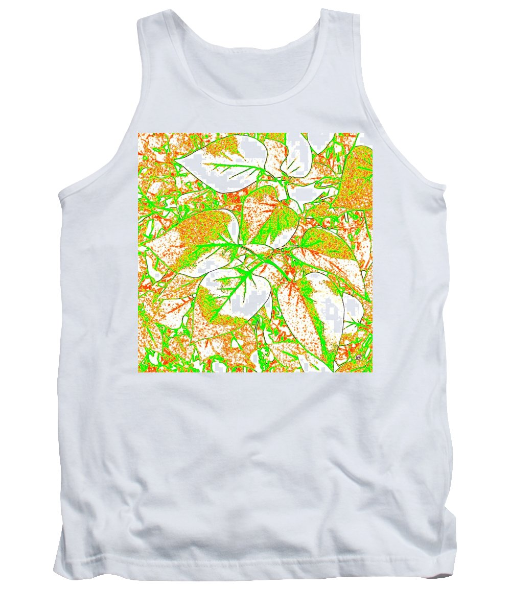 Abstract Tank Top featuring the digital art Harmony 11 by Will Borden