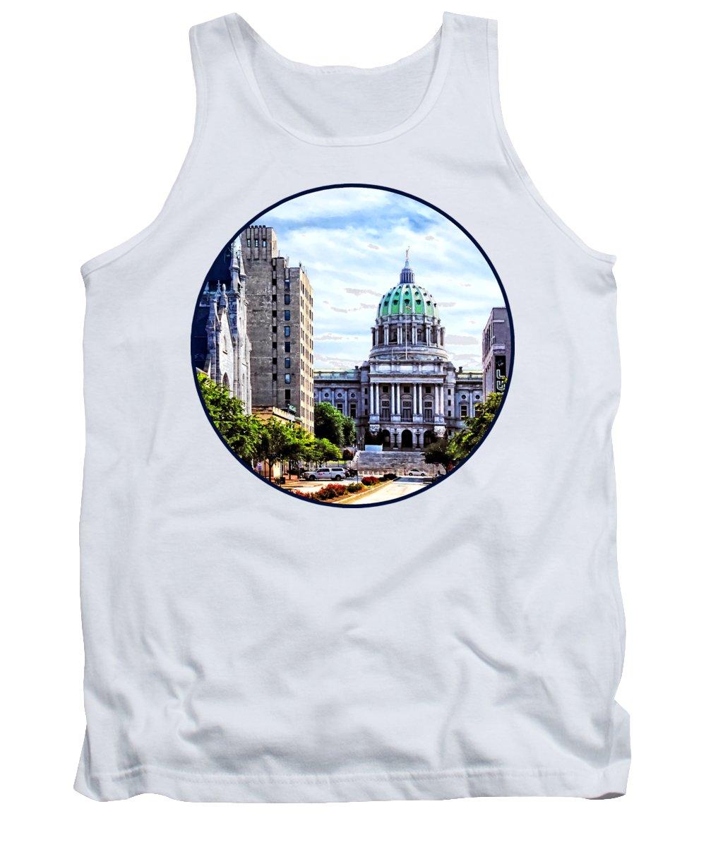 Capitol Building Photographs Tank Tops