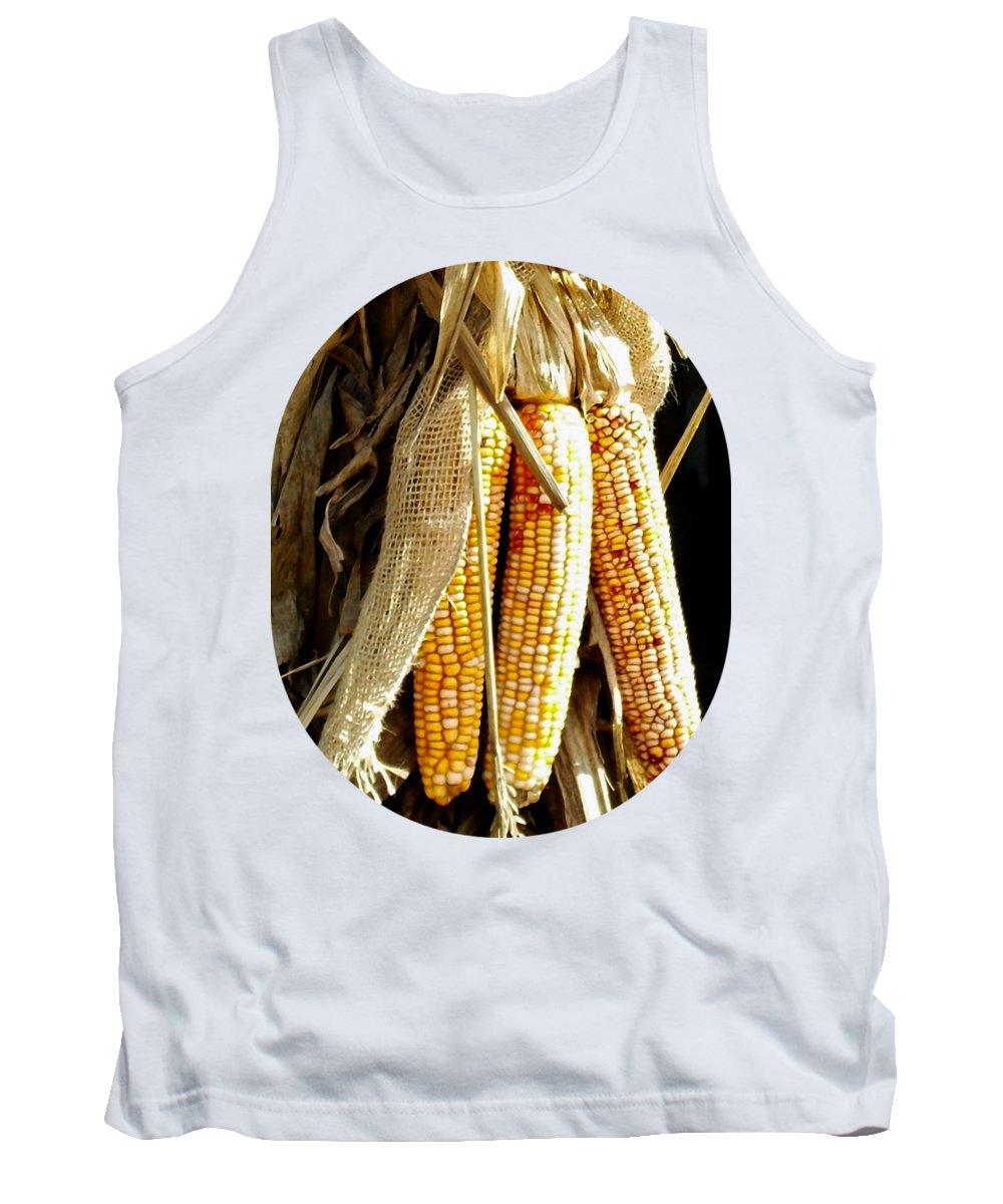 Indian Corn Photographs Tank Tops