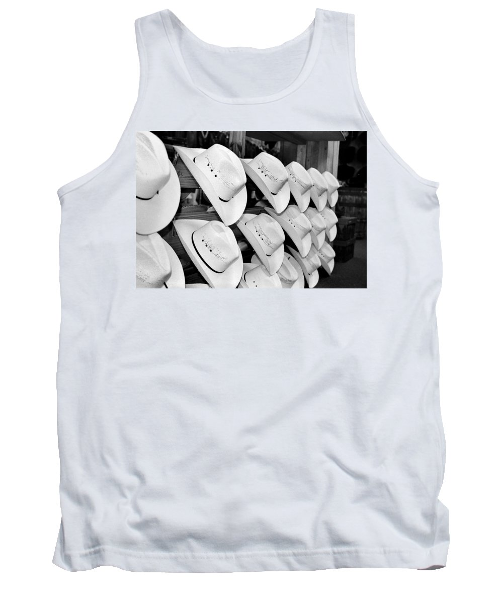 Hat Tank Top featuring the photograph Hat And Boot Store Nashville Tn by Joseph Mari