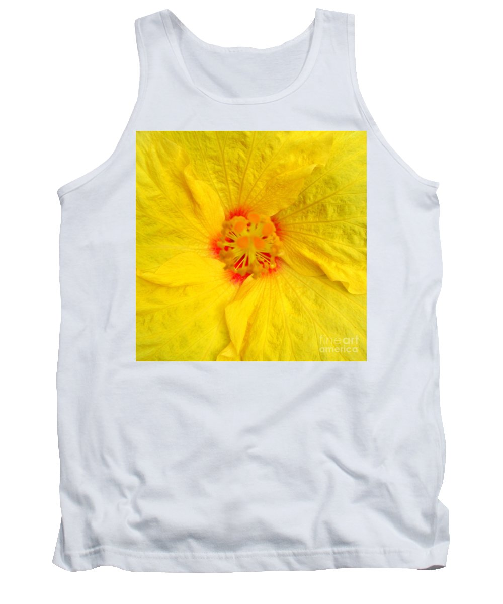 Hibiscus Tank Top featuring the photograph Hawaiian Hibiscus by Randall Weidner
