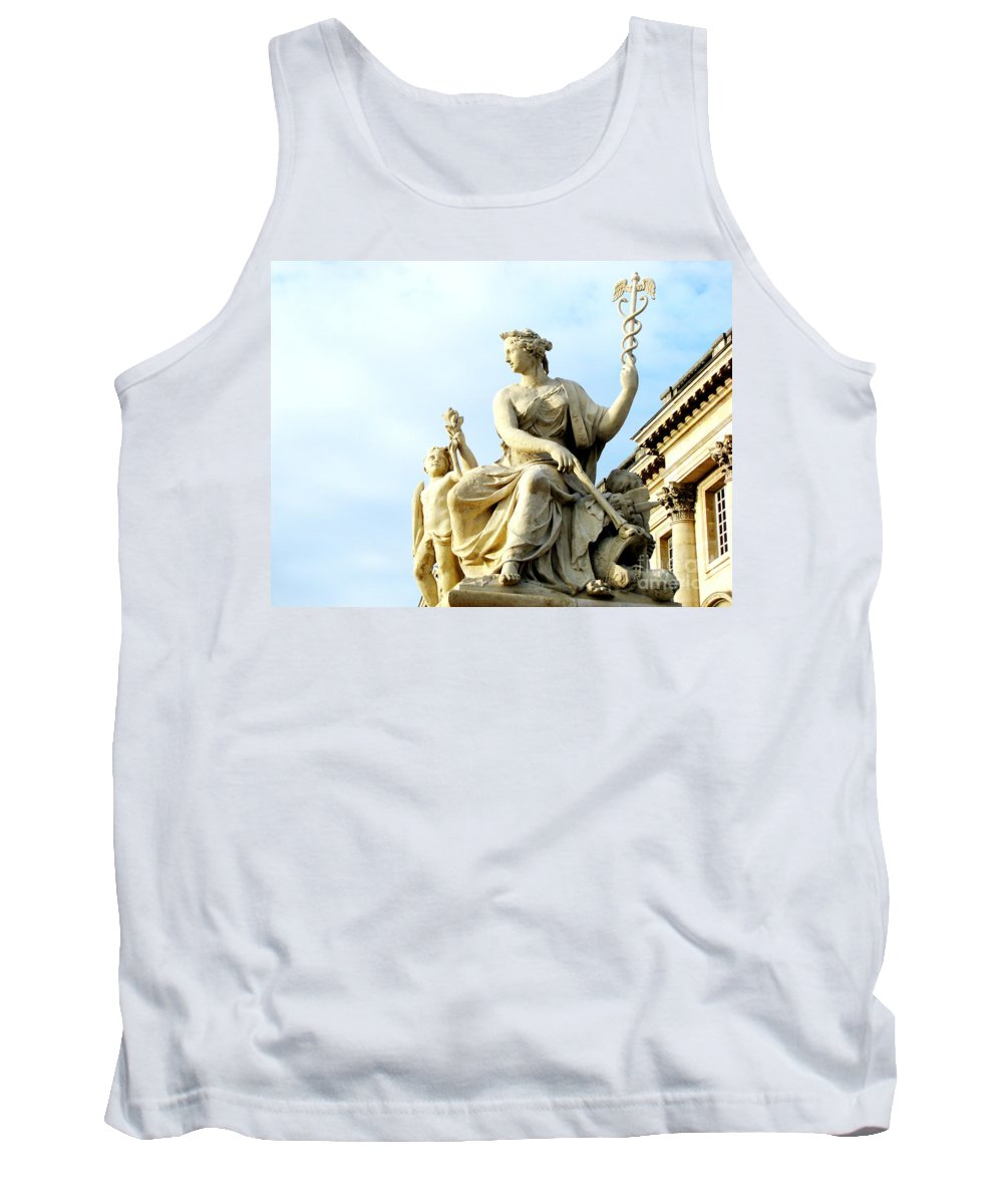 Statues Tank Top featuring the photograph Healing by Amanda Barcon