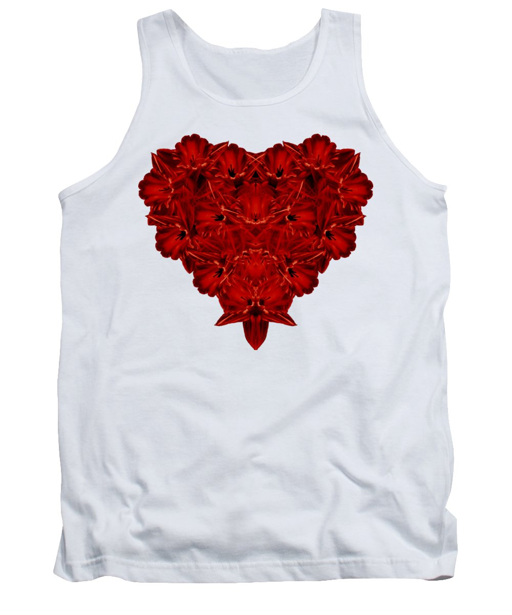 Flowers Tank Top featuring the photograph Heart Of Flowers T-shirt by Edward Fielding