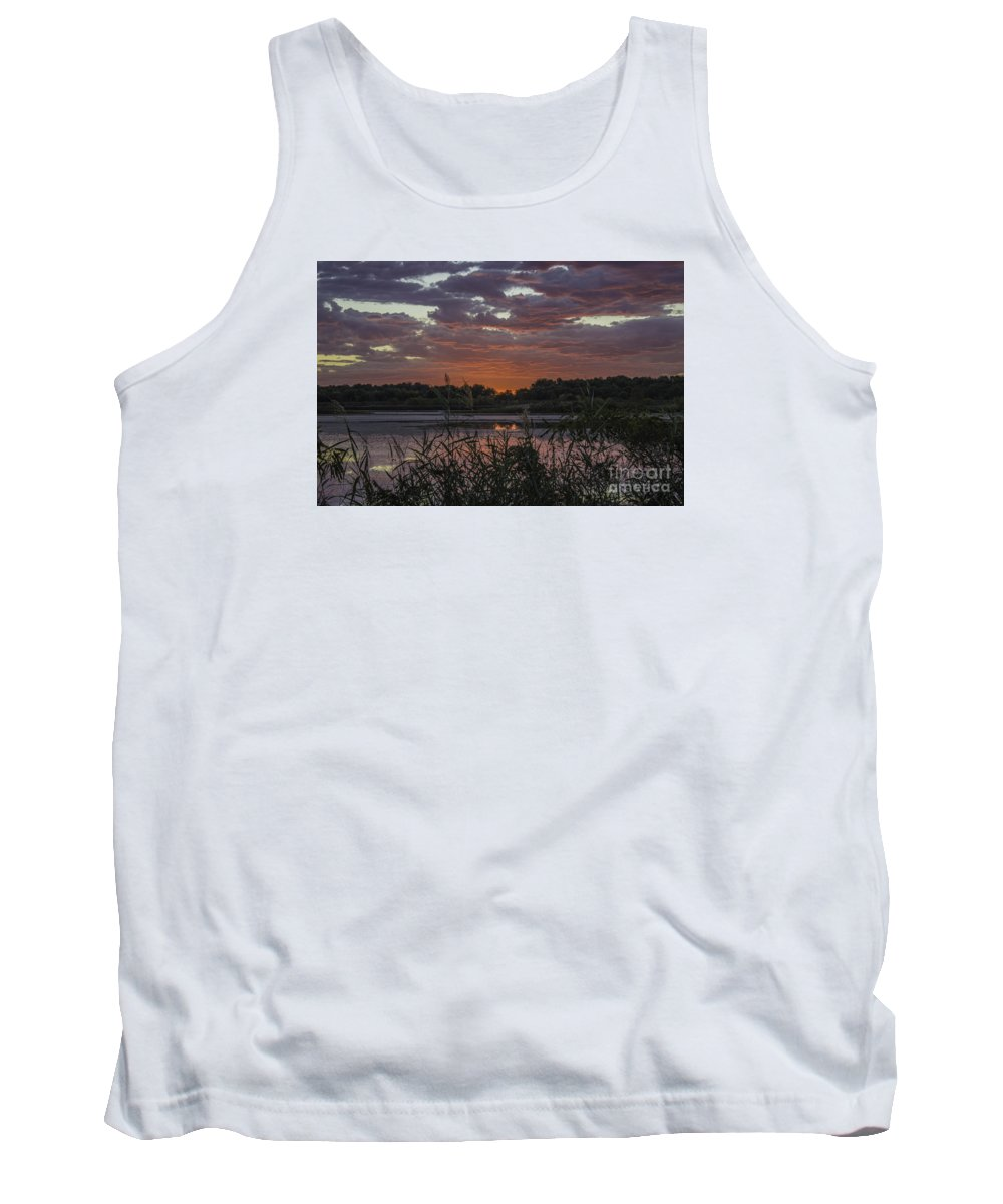 Pink Tank Top featuring the photograph Heavenly Pink by Doug Daniels