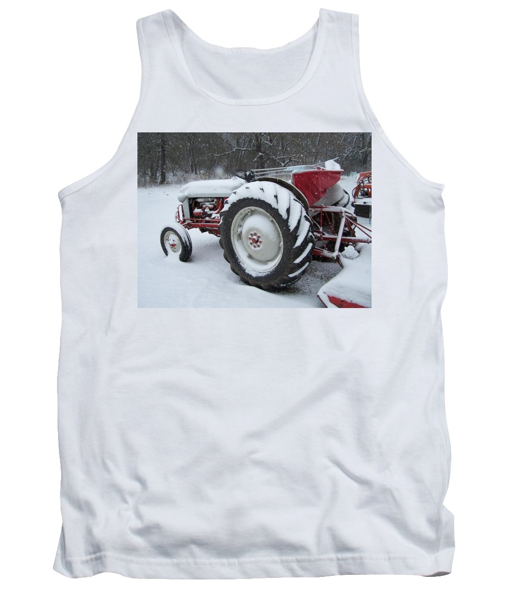 Tractor Tank Top featuring the photograph Herman by Gale Cochran-Smith