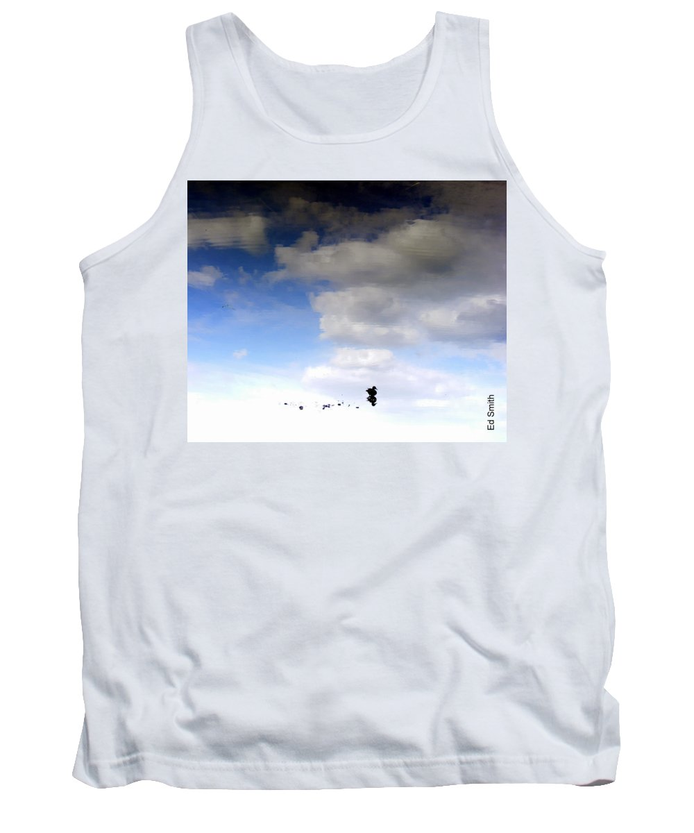 Hey Is This Heaven Tank Top featuring the photograph Hey Is This Heaven by Edward Smith