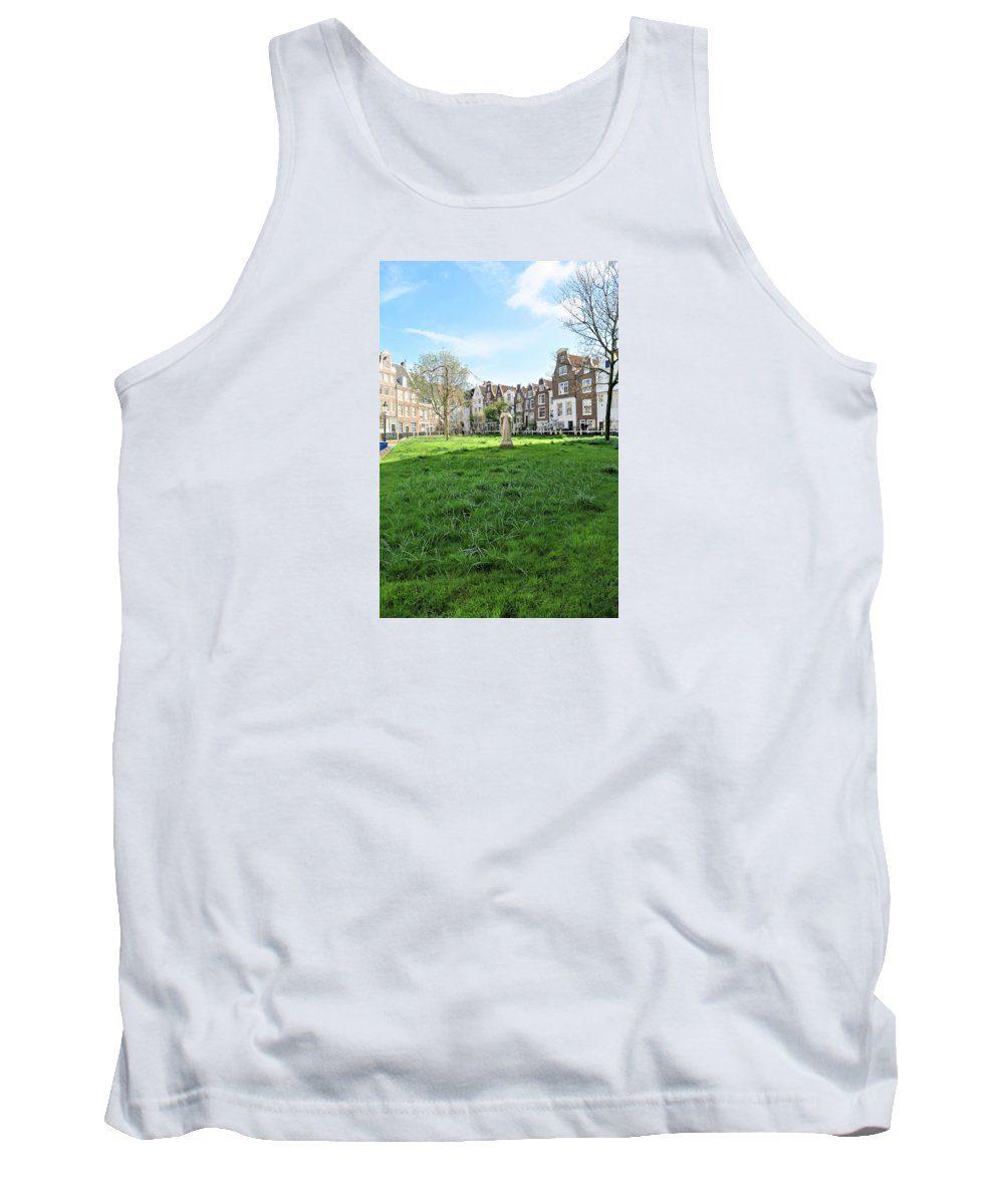 Landscape Tank Top featuring the photograph Hidden Square by Sandra Bourret