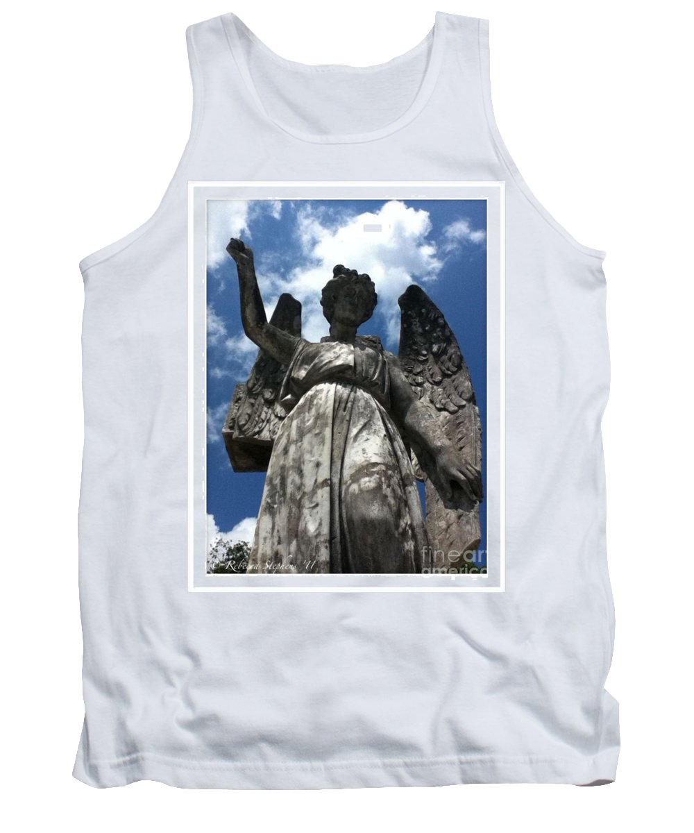 Angel Tank Top featuring the photograph High To Heaven by Rebecca Stephens