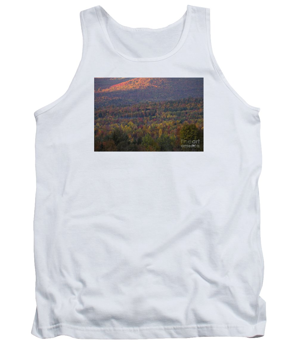 Fall Tank Top featuring the photograph Hill Side by Alana Ranney