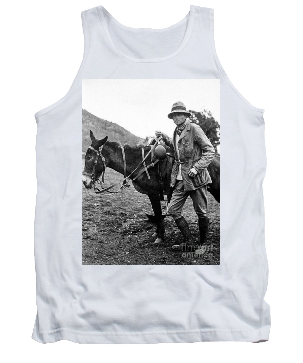 1911 Tank Top featuring the photograph Hiram Bingham (1875-1956) by Granger