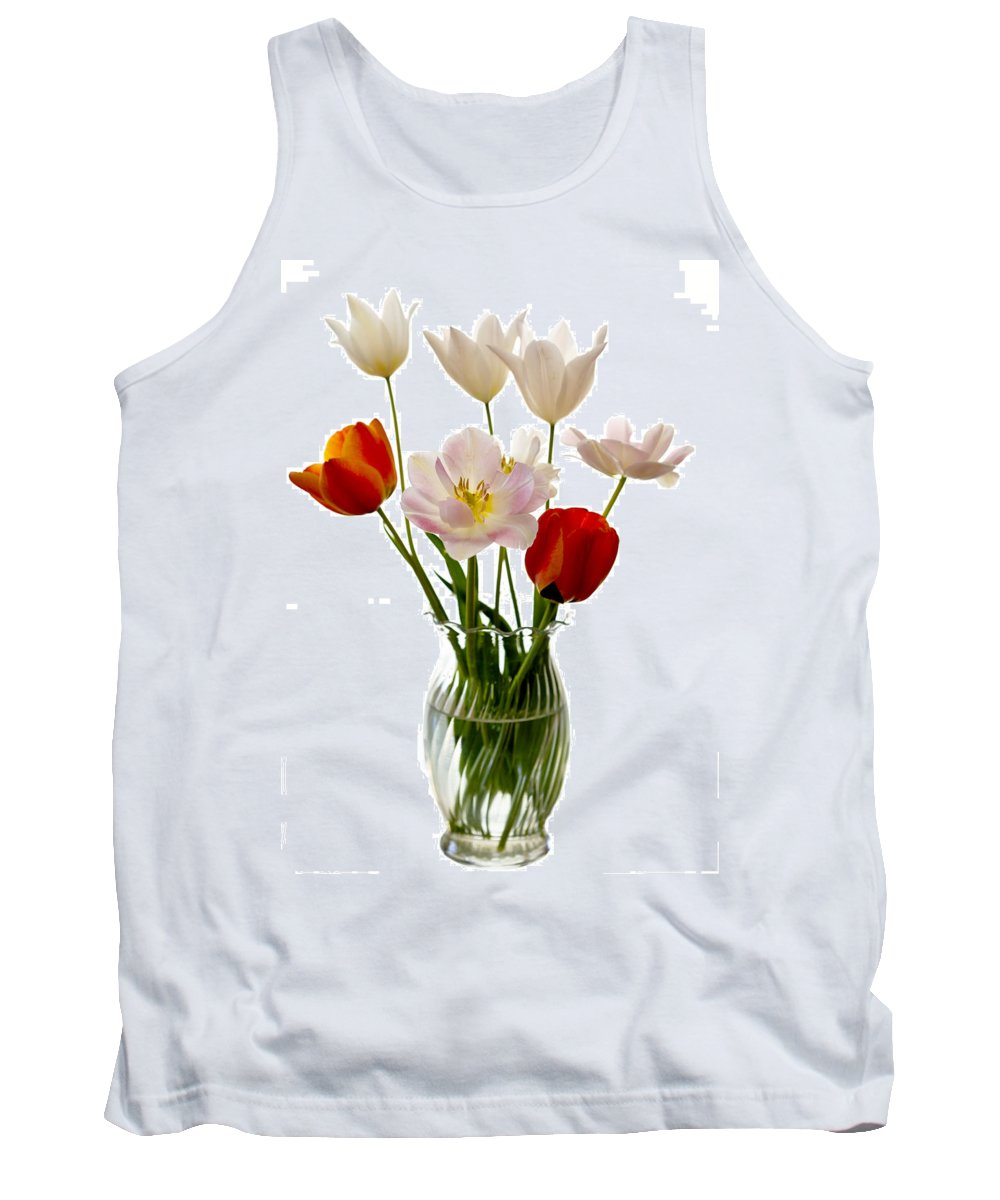 Flower Tank Top featuring the photograph Home Grown by Marilyn Hunt