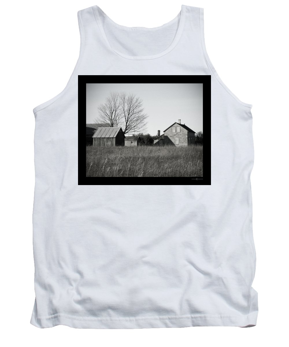 Deserted Tank Top featuring the photograph Homestead by Tim Nyberg