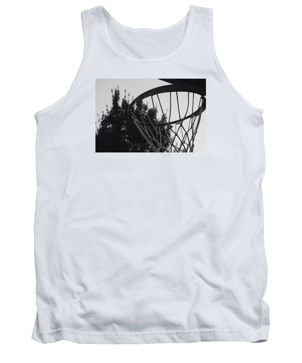 Net Tank Top featuring the photograph Hoops by Sydney Mark
