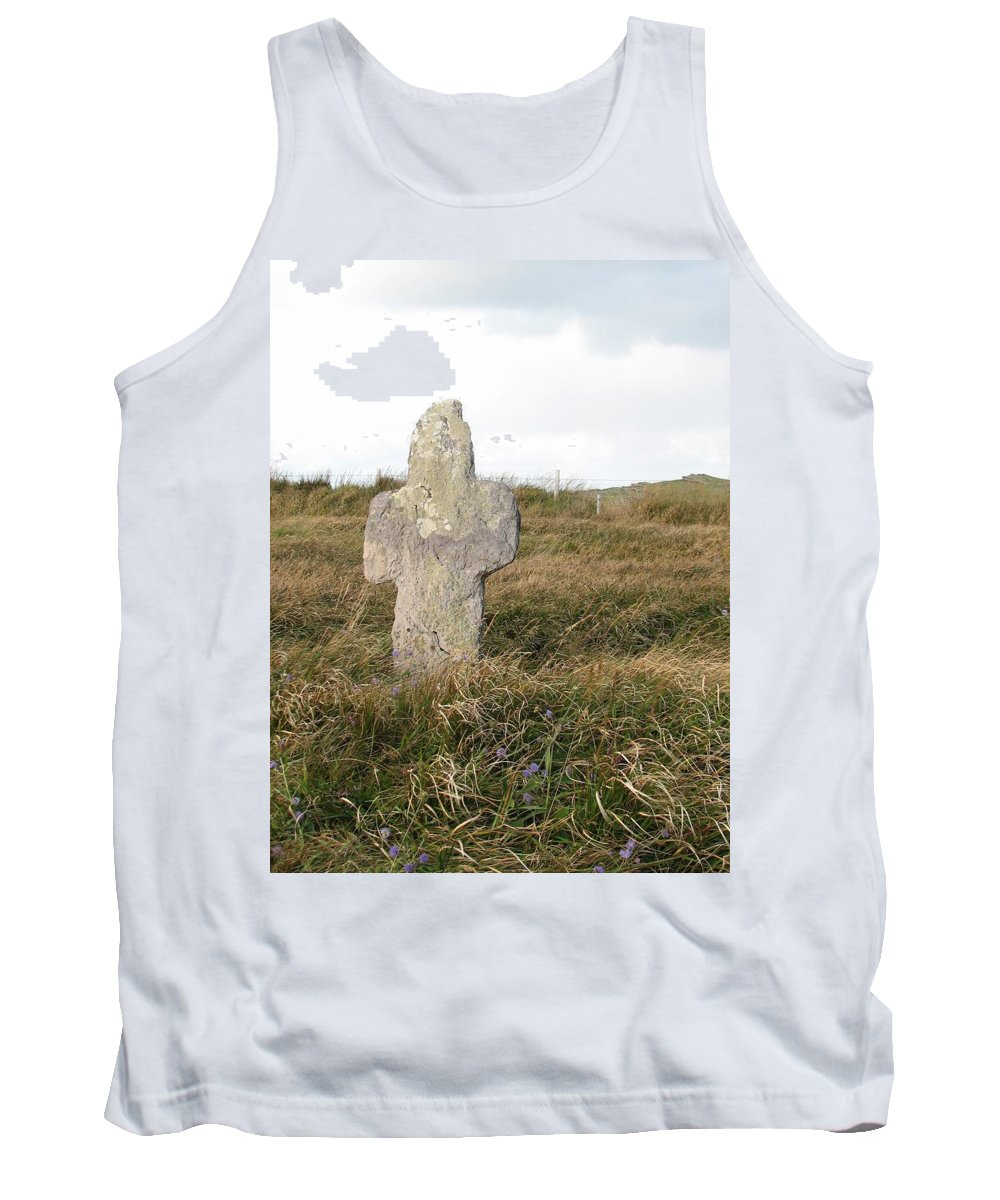 Cross Tank Top featuring the photograph Hope by Kelly Mezzapelle