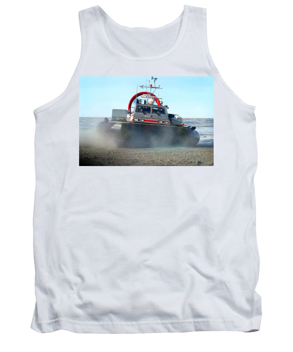 Hover Craft Tank Top featuring the photograph Hover Craft by Anthony Jones