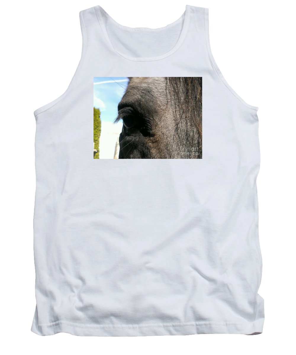 Horse Tank Top featuring the photograph Hypnotize by LKB Art and Photography