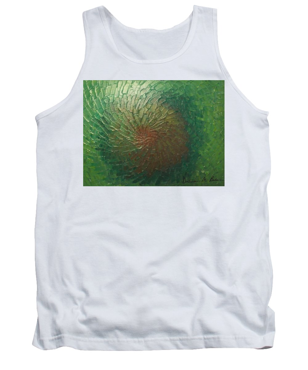 People Tank Top featuring the painting Iris by Dorneisha Batson
