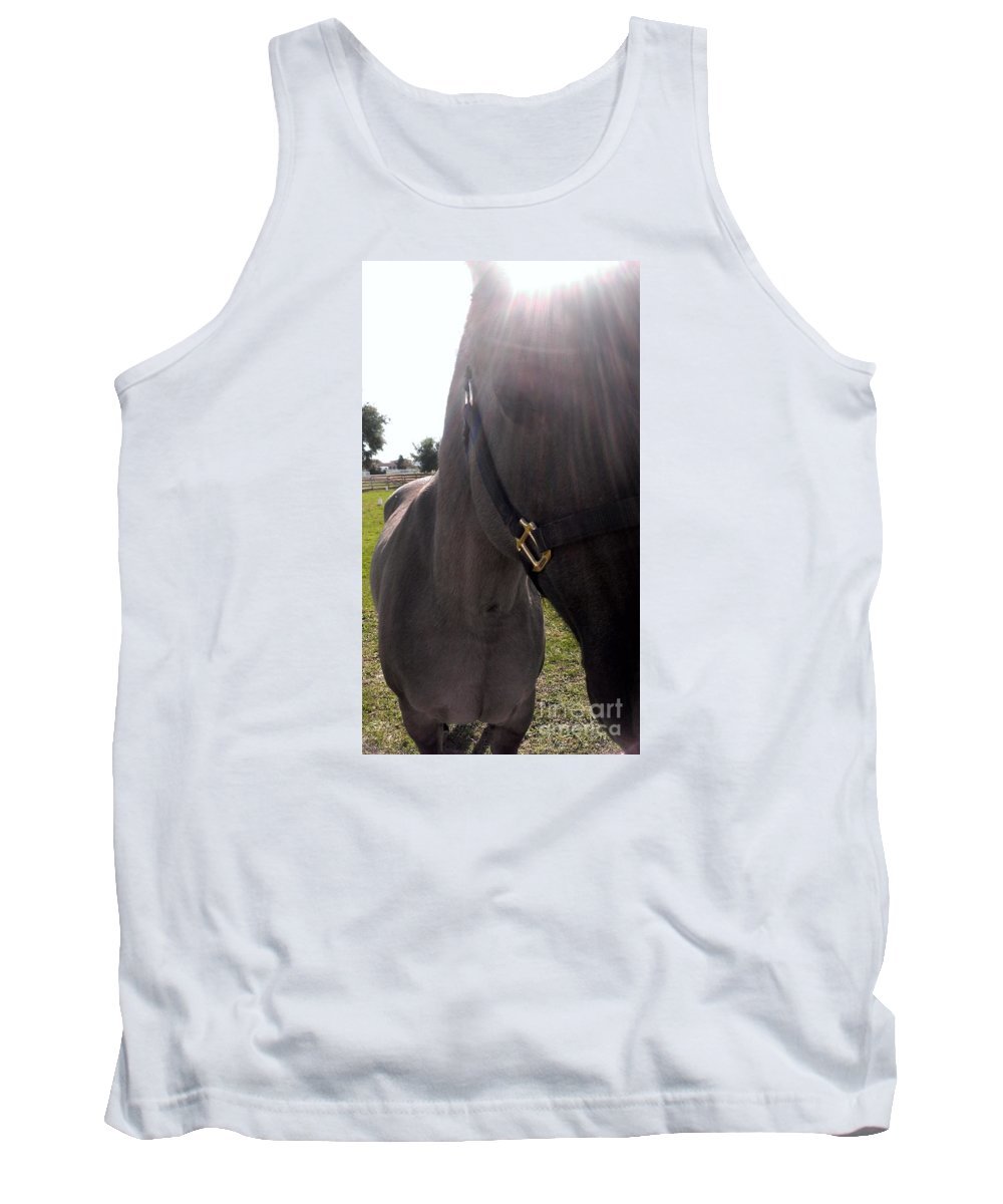 Horse Tank Top featuring the photograph Ive Got Sunshine by LKB Art and Photography