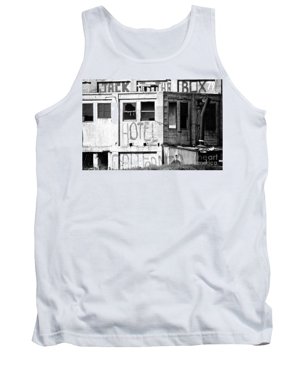 Rural Tank Top featuring the photograph Jack -in-the-box Wanabee by Norman Andrus