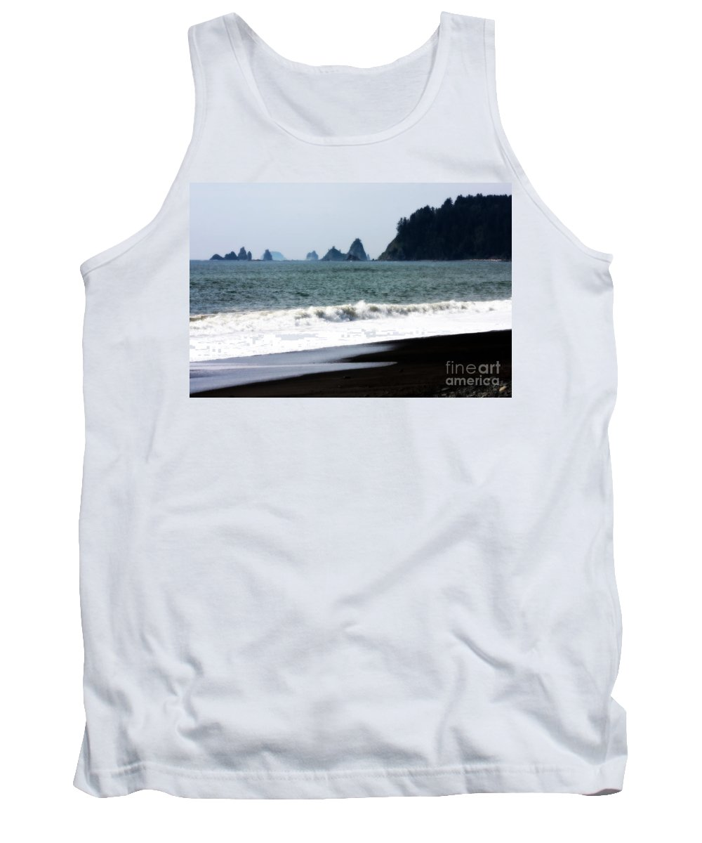 La Push Beach Tank Top featuring the photograph Jacob's Dream by Carol Groenen
