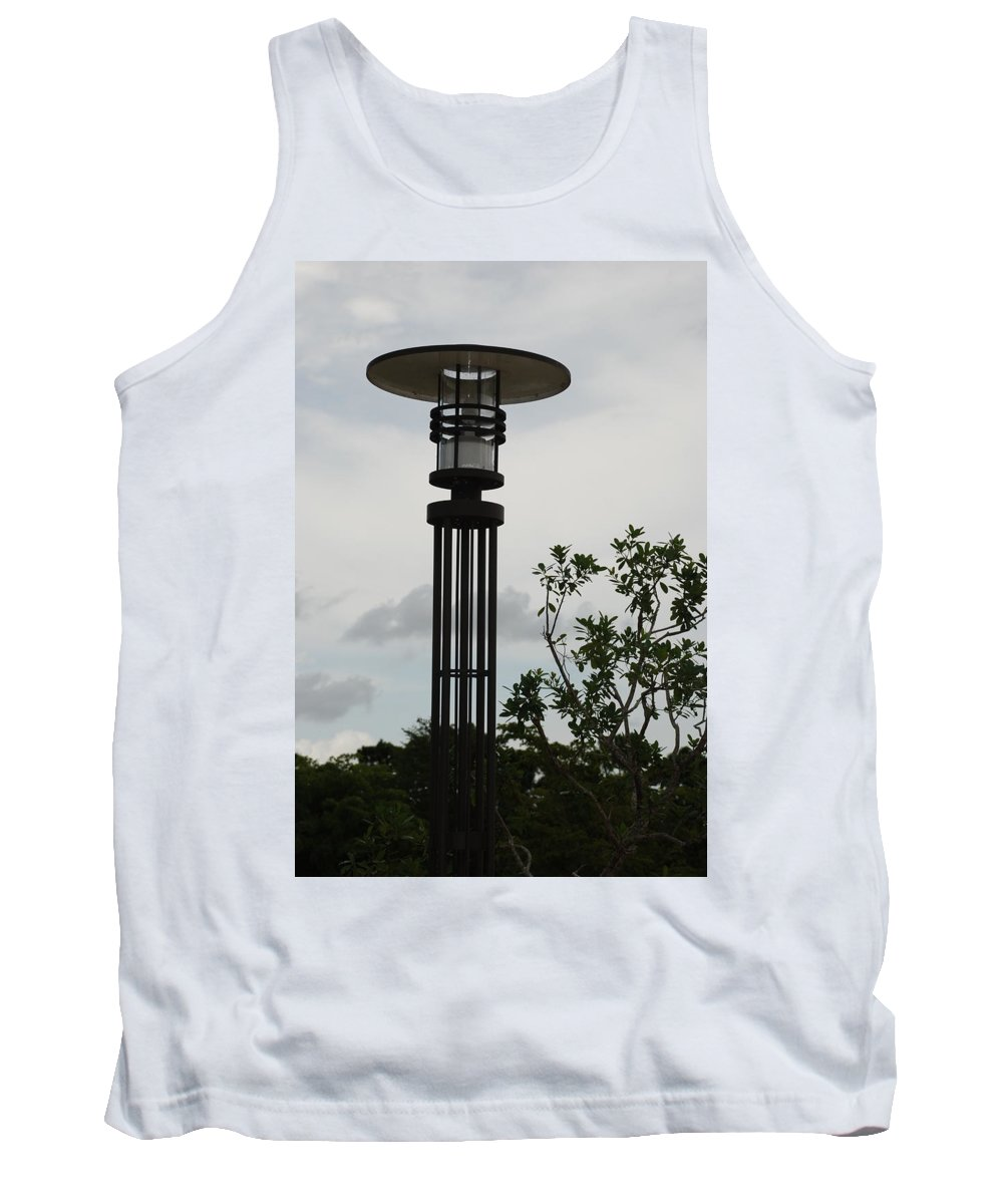 Street Lamp Tank Top featuring the photograph Japanese Street Lamp by Rob Hans