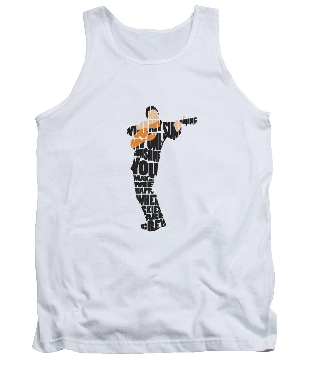 Johnny Cash Tank Tops