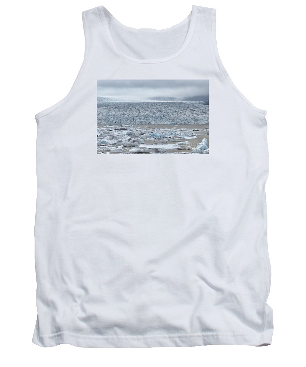 Glacial River Lagoon Tank Top featuring the photograph Jokulsarlon, Iceland by Ivan Batinic