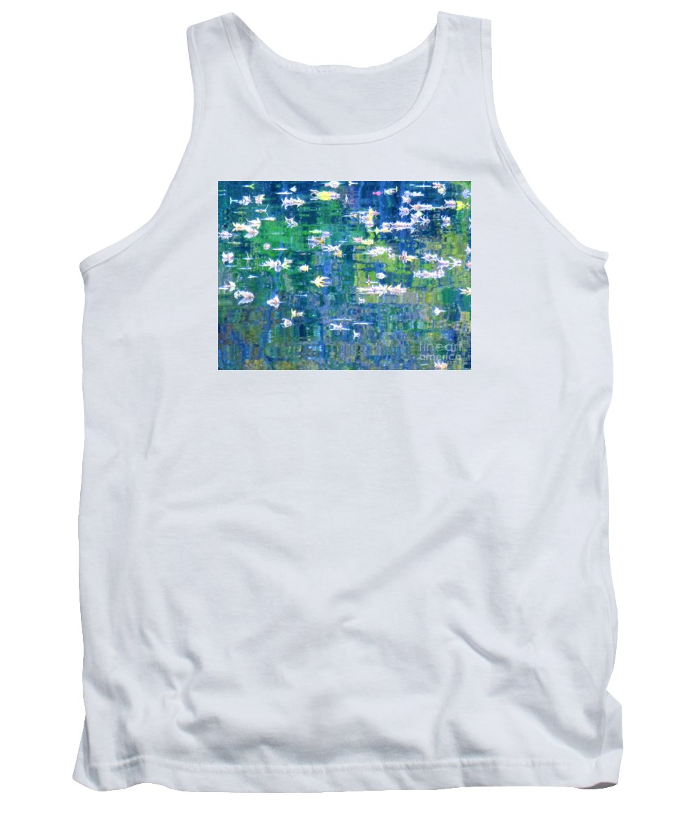 Abstract Tank Top featuring the photograph JOY by Sybil Staples