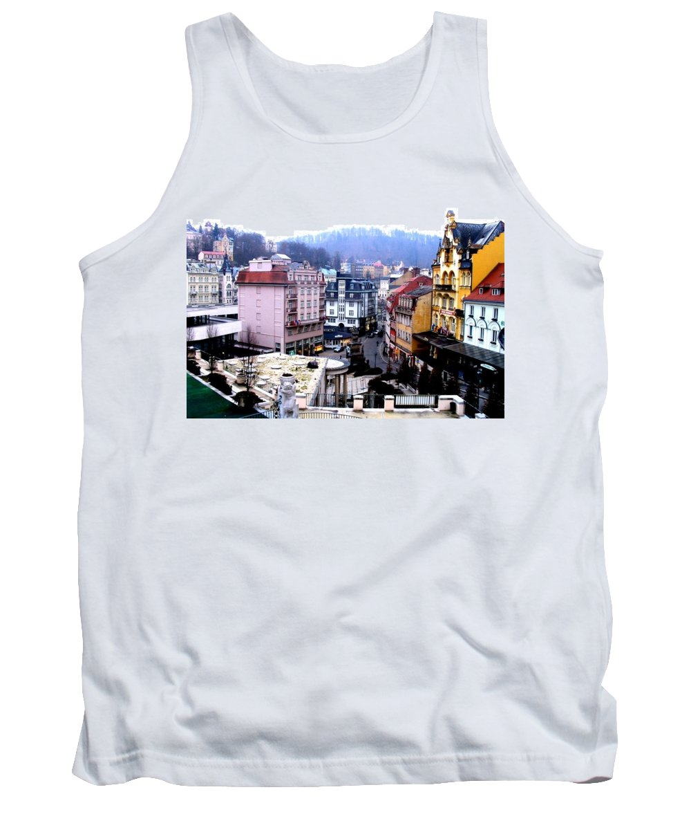 Karlovy Vary Tank Top featuring the photograph Karlovy Vary Cz by Michelle Dallocchio