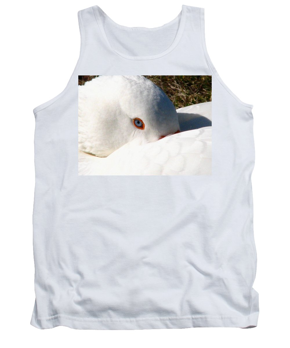 Geese Tank Top featuring the photograph Keeping A Watchful Eye by J M Farris Photography