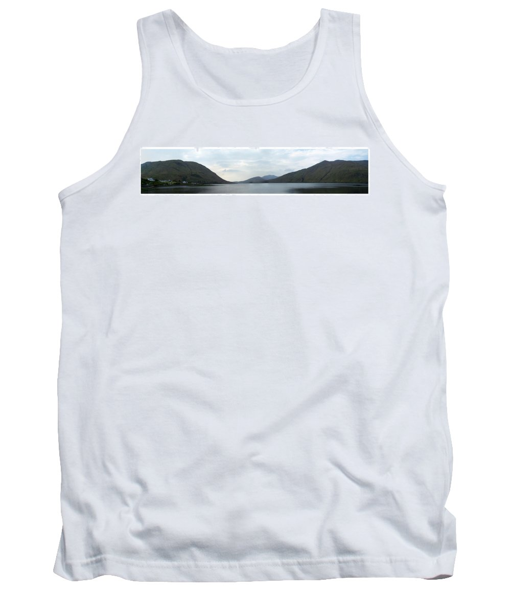Landscape Tank Top featuring the photograph Killary Harbour Leenane Ireland by Teresa Mucha