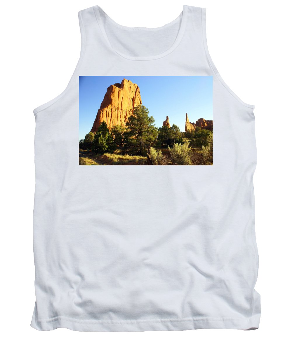 Utah Tank Top featuring the photograph Kodachrome Basin I by Marty Koch