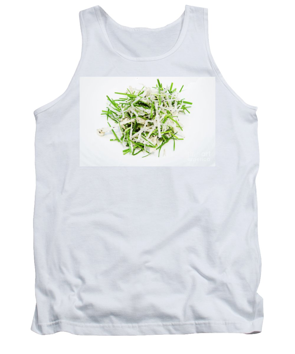 Asia Tank Top featuring the photograph Korean Traditional Fresh Vegetable Salad by Jacek Malipan