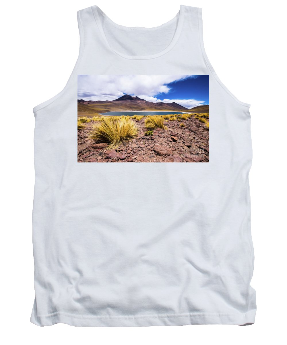 Laguna Tank Top featuring the photograph Laguna Miniques by Olivier Steiner