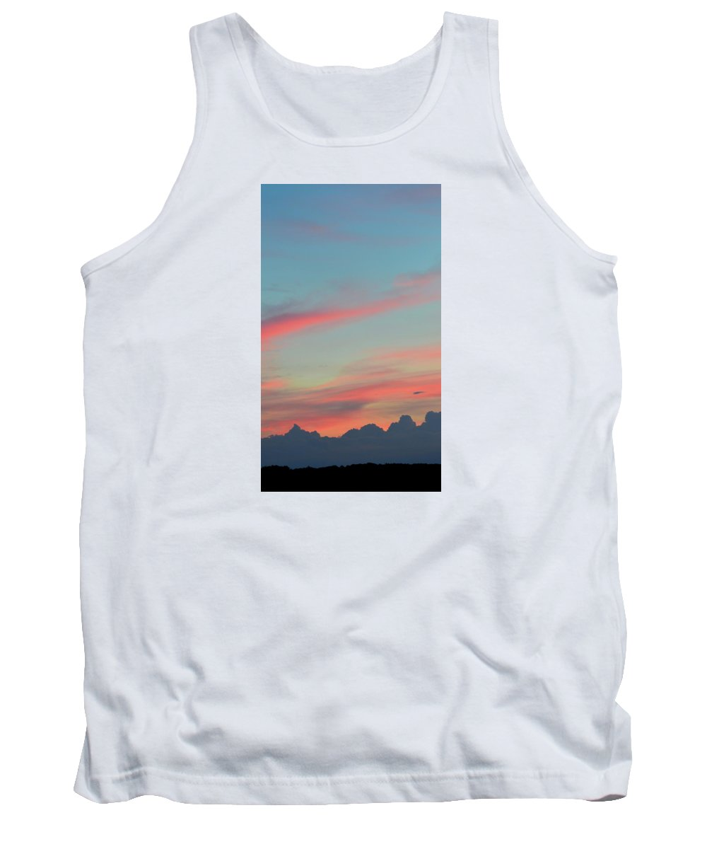 Trees Tank Top featuring the photograph Layered Landscape by Lyle Crump