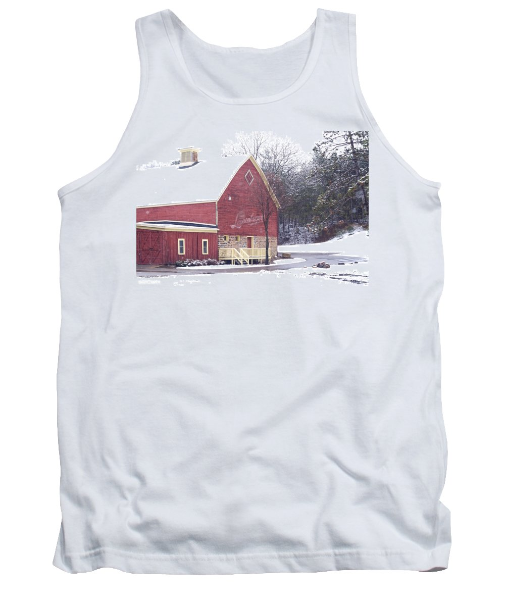 Barn Tank Top featuring the photograph Leinie by Tim Nyberg