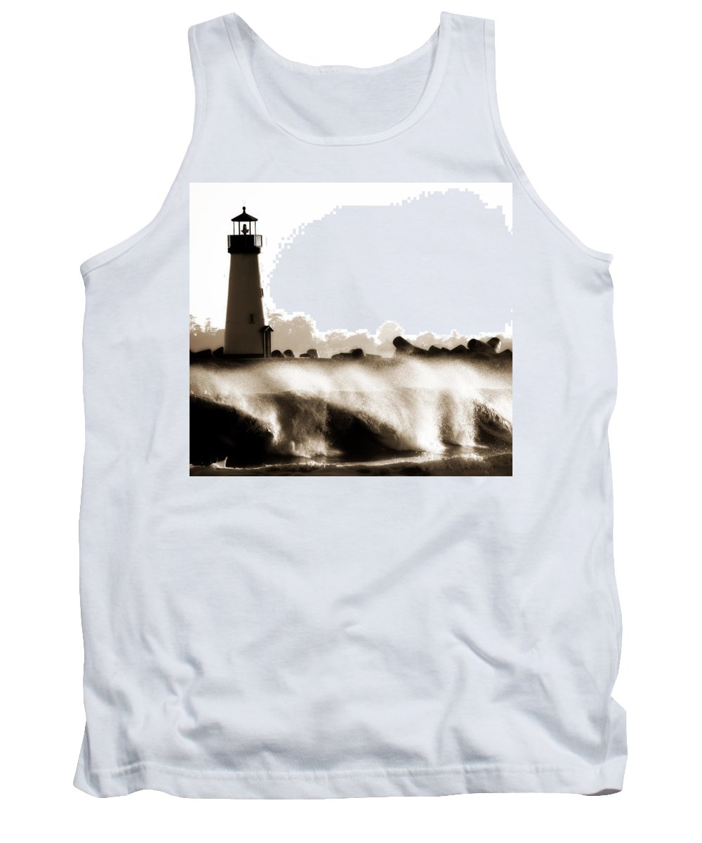 Lighthouse Tank Top featuring the photograph Lighthouse 3 Dreamy by Marilyn Hunt