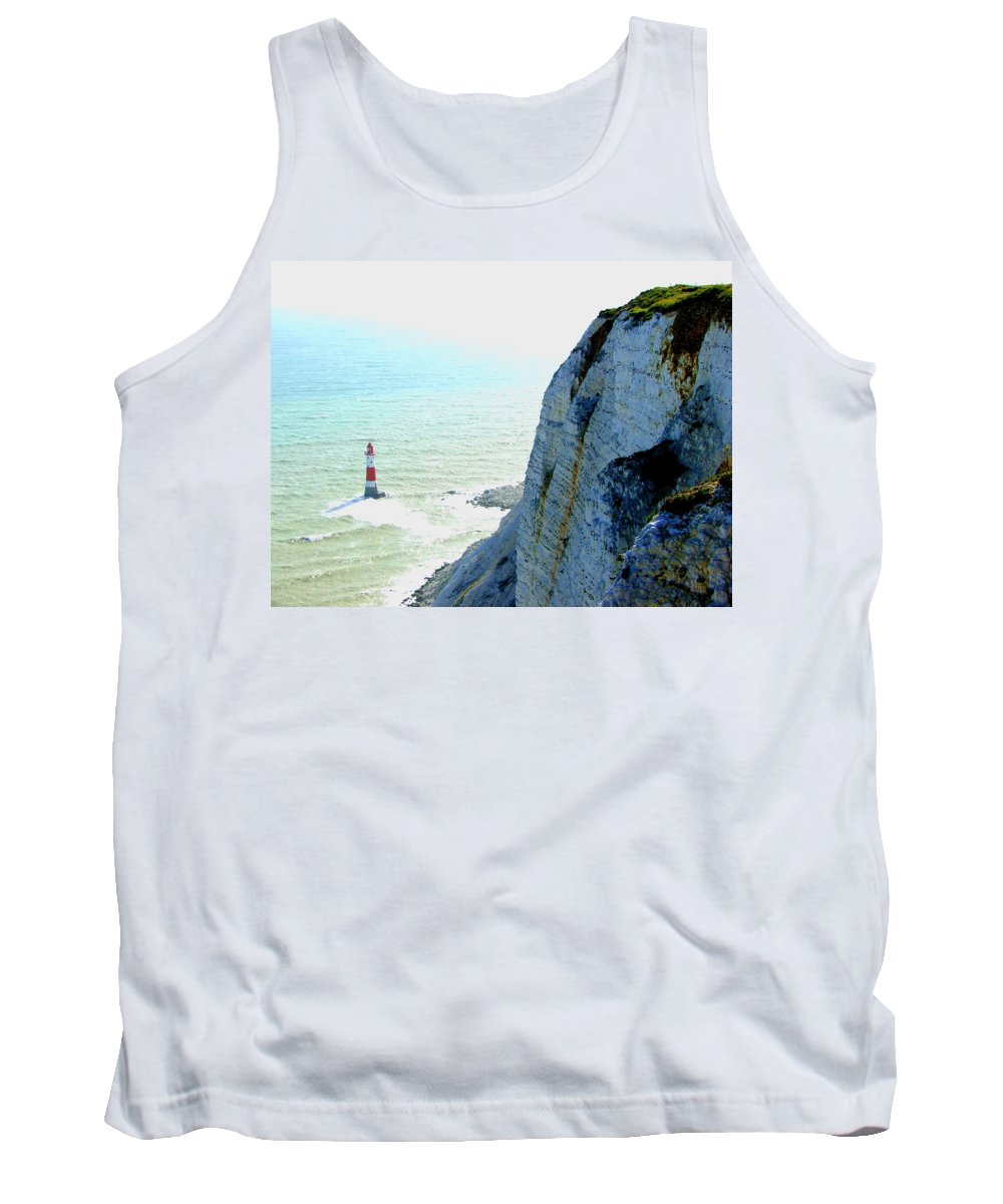 Lighthouse Tank Top featuring the photograph Lighthouse by Heather Lennox