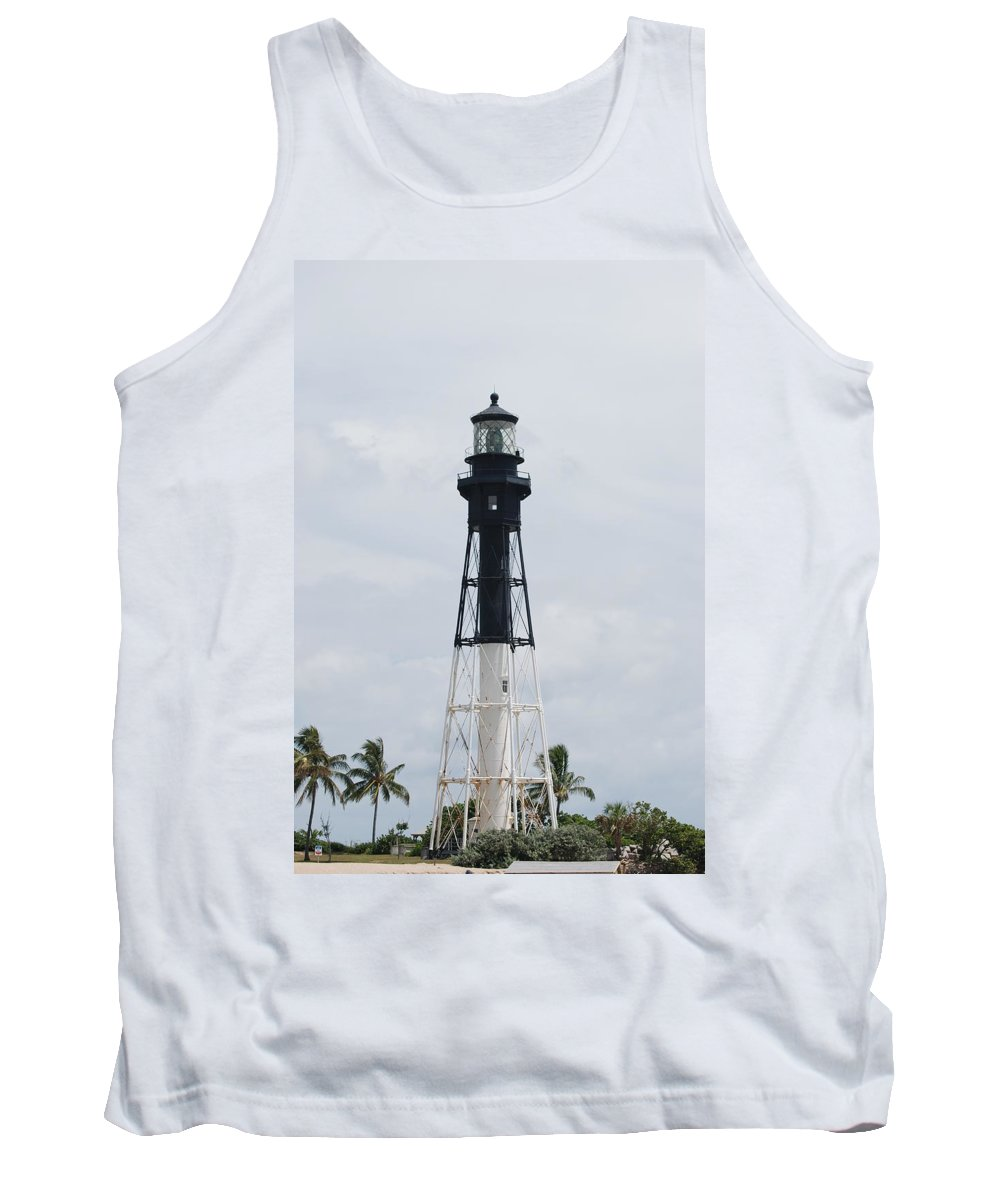 Landscape Tank Top featuring the photograph Lighthouse by Rob Hans