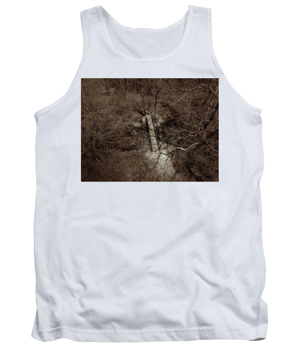 Black Tank Top featuring the photograph Lighting The Way by Nick Smith