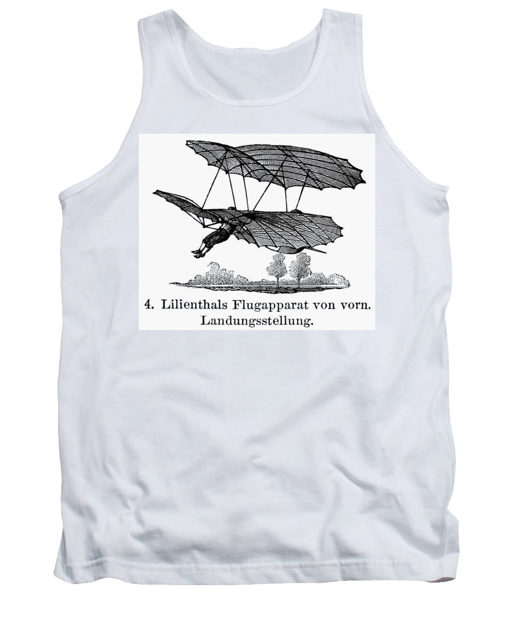 1895 Tank Top featuring the photograph Lilienthal Glider, 1895 by Granger