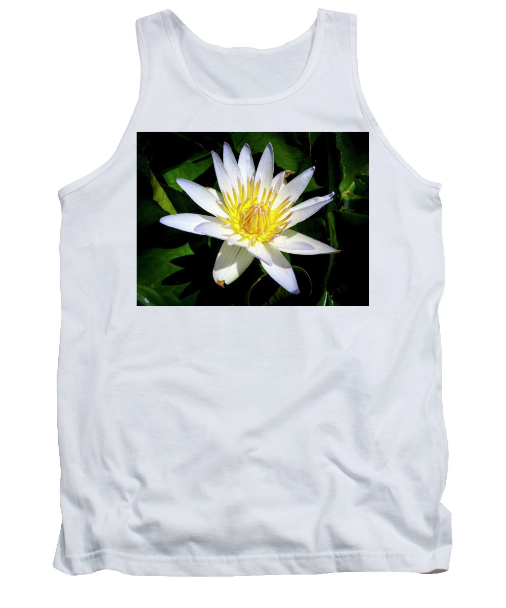 Flowers Tank Top featuring the photograph Lily by Daniel Murphy