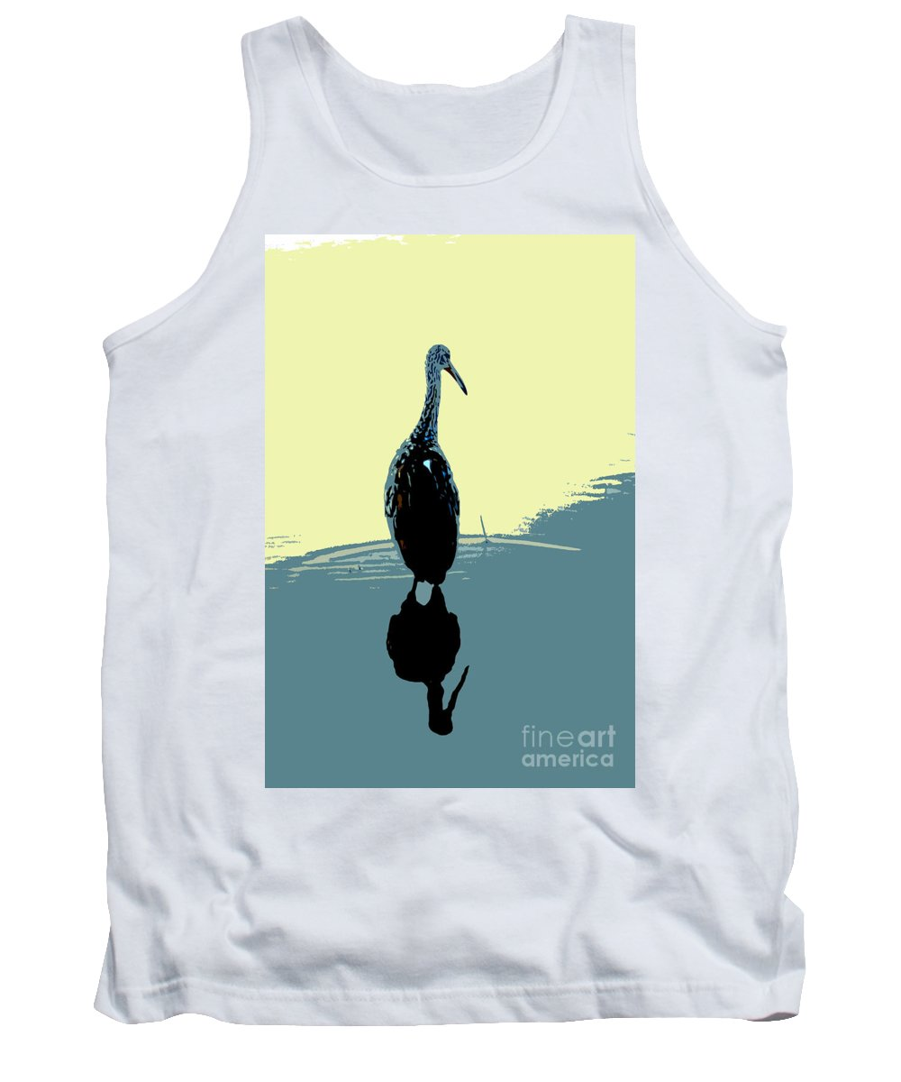 Bird Tank Top featuring the photograph Limp Kin In Color by David Lee Thompson
