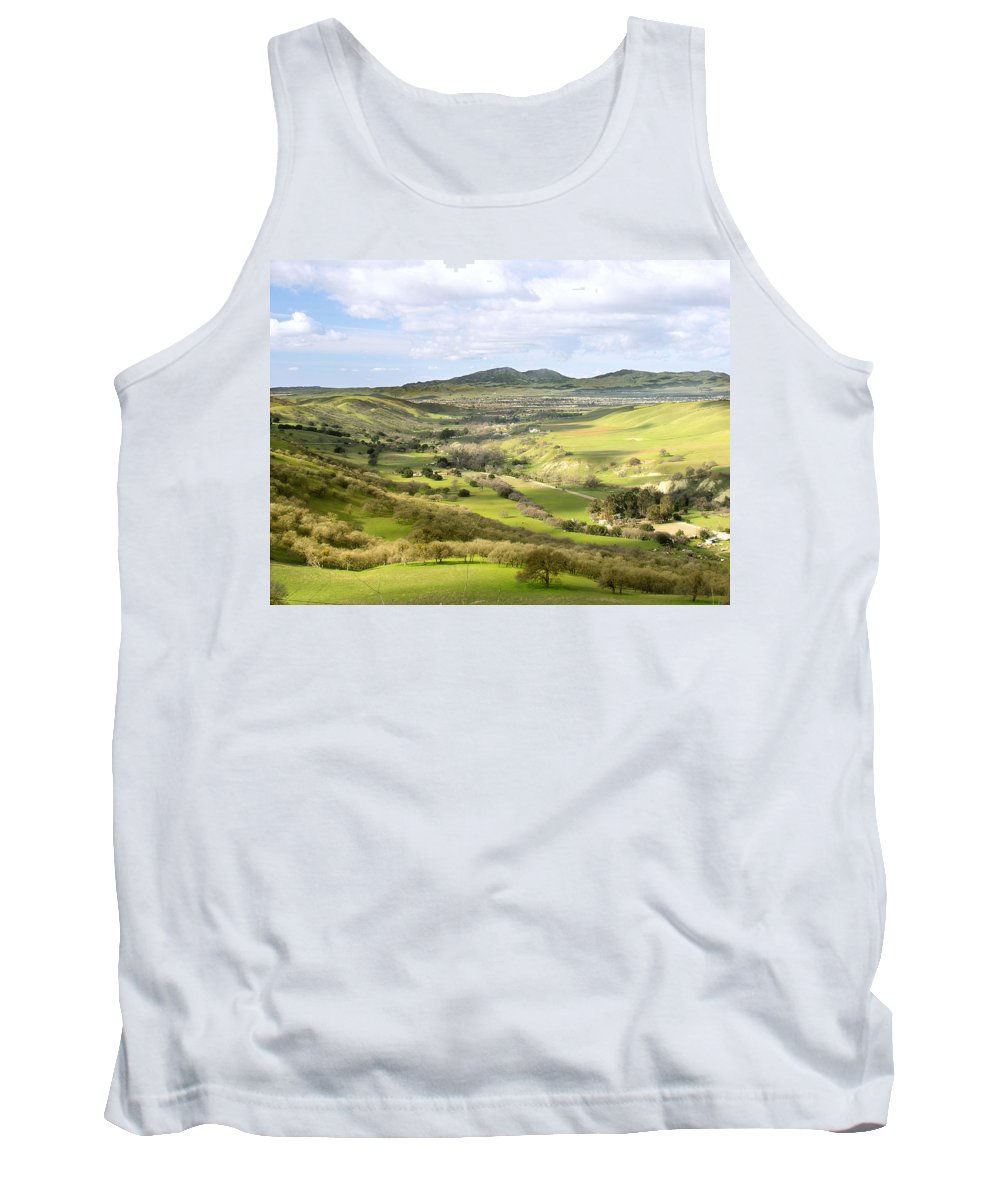 Landscape Tank Top featuring the photograph Livermore Valley by Karen W Meyer