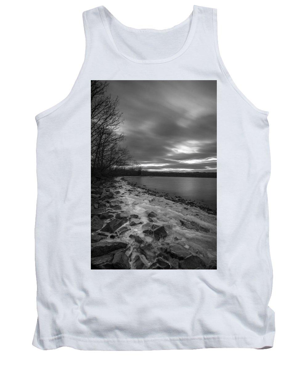 Long Exposures Tank Top featuring the photograph Long Cold by Todd Wilkinson
