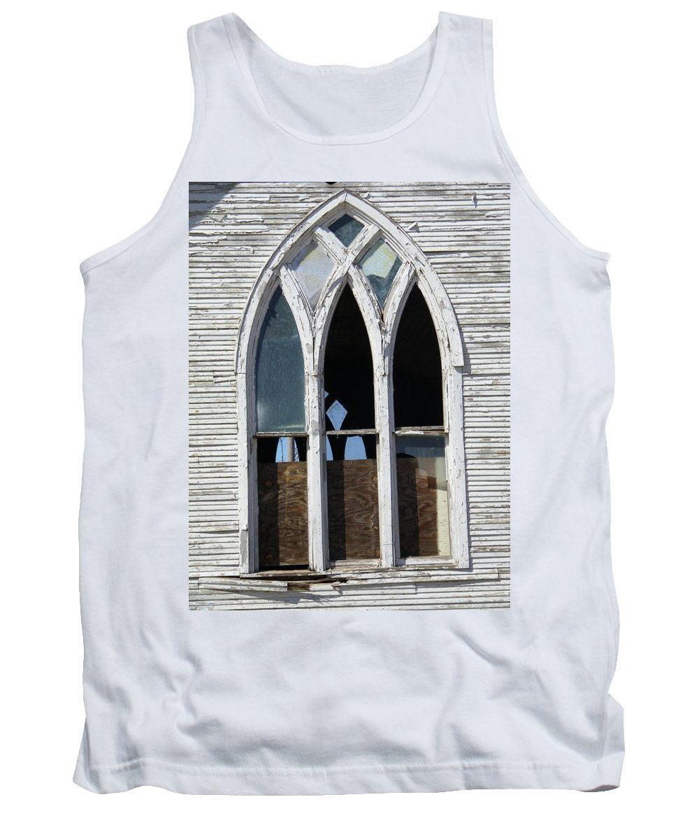 Church Tank Top featuring the photograph Lost by Gale Cochran-Smith