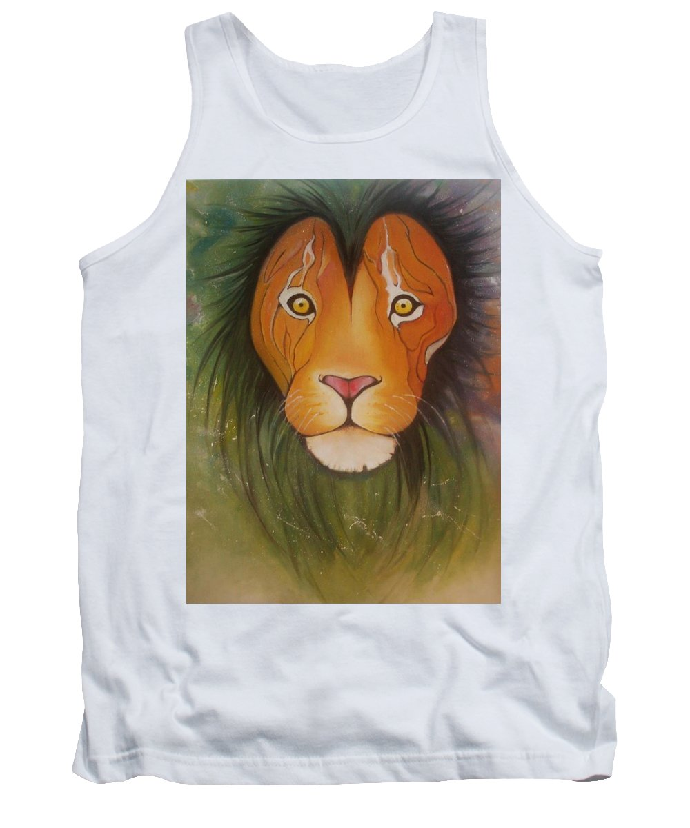 Animals Paintings Tank Tops