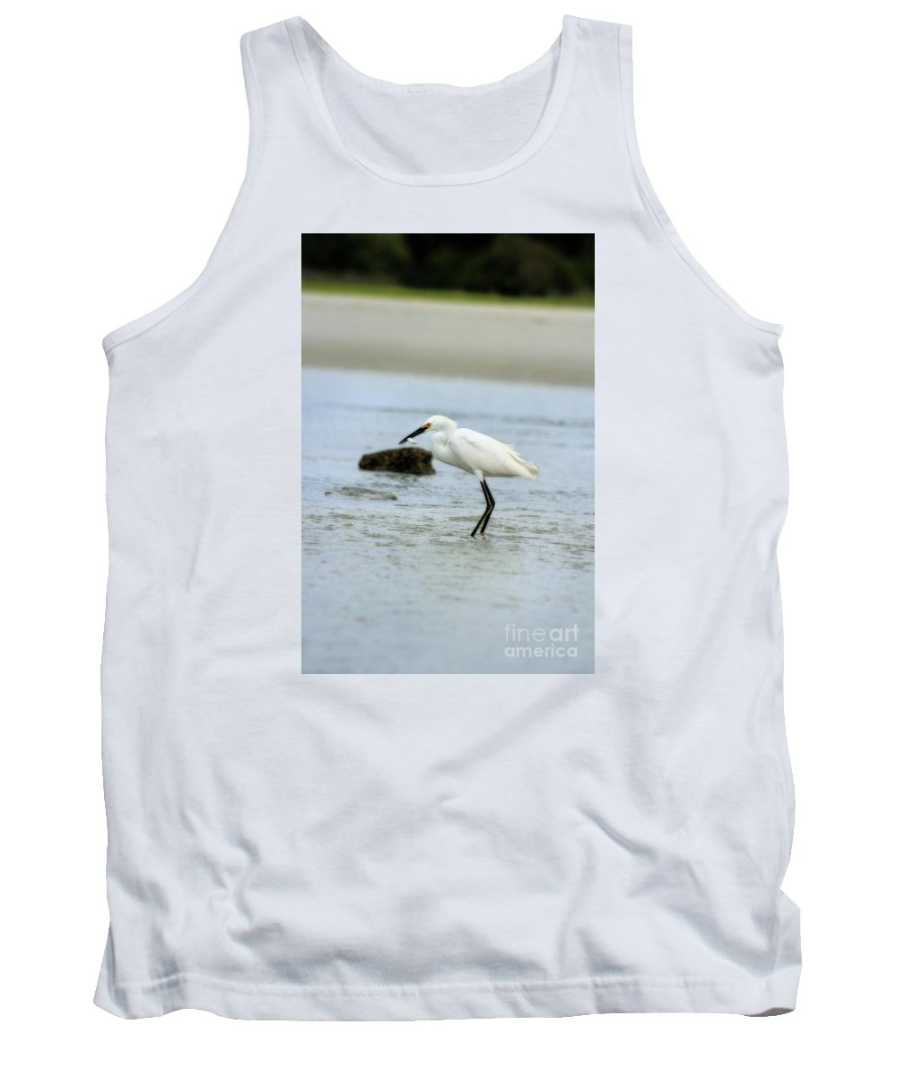 Tank Top featuring the photograph Made A Catch by Angela Rath