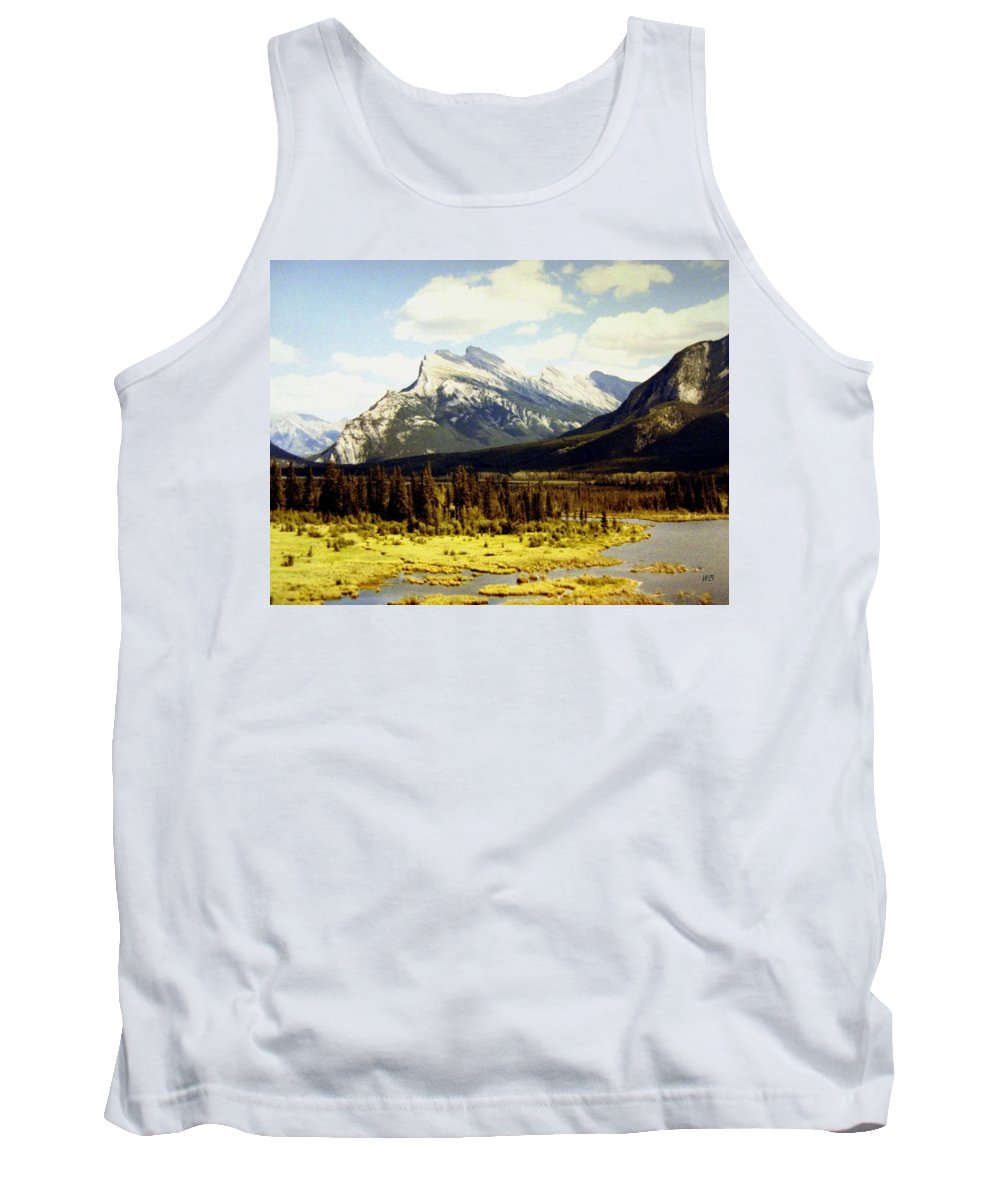 Mount Rundle Tank Top featuring the photograph Majestic Mount Rundle by Will Borden
