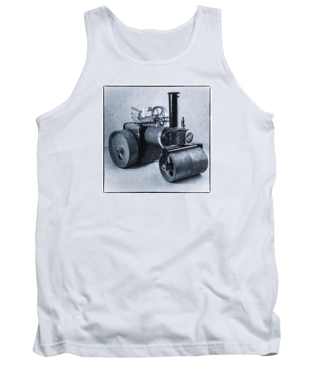 Mamod Tank Top featuring the photograph Mamod Roller by Rob Hawkins